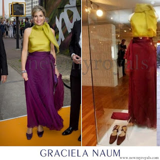 Queen Maxima wore GRACIELA NAUM Dress