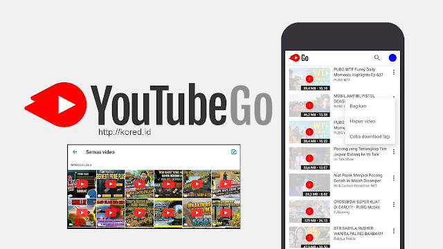 Cara Menghapus Video Dari Youtube Go