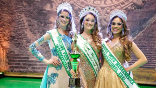 Miss Teen Mesoamérica 2021 es  Perú
