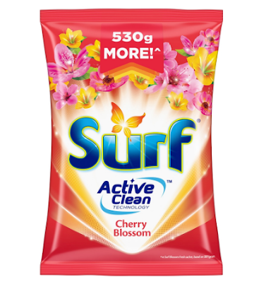 Surf Cherry Blossom Detergent Powder with Fabcon
