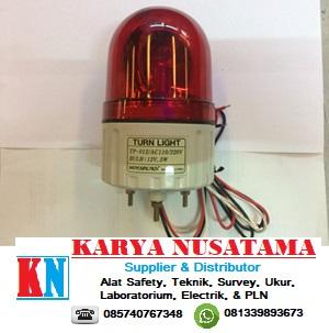 Jual Warning Light Hanyoung TP-012R Merah 110-220VAC di Pekanbaru