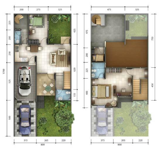 500+ Gambar Desain Rumah 5 X 8 Meter 3 Kamar Gratis Unduh