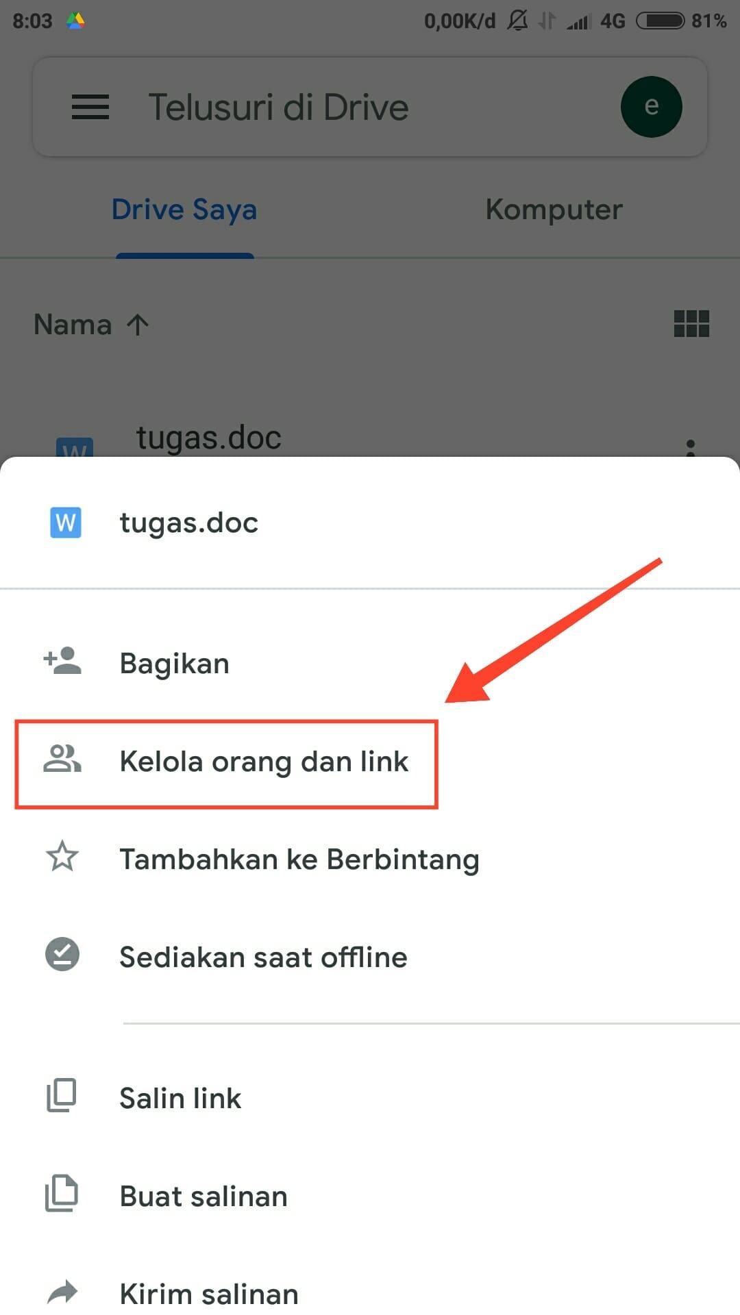 Cara Share Link Google Drive agar Bisa di Download Orang Lain