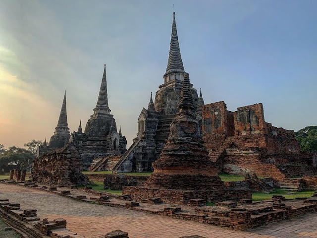 5 Candi Terindah di Ayutthaya Thailand