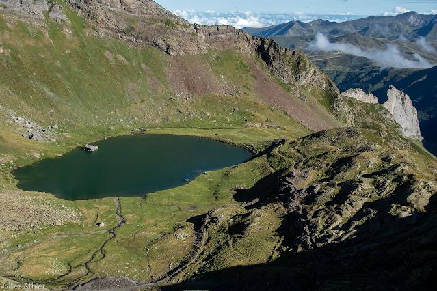 Sites des mines d'Anglas et lac d'Anglas