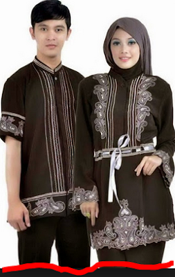 baju muslim couple modern remaja