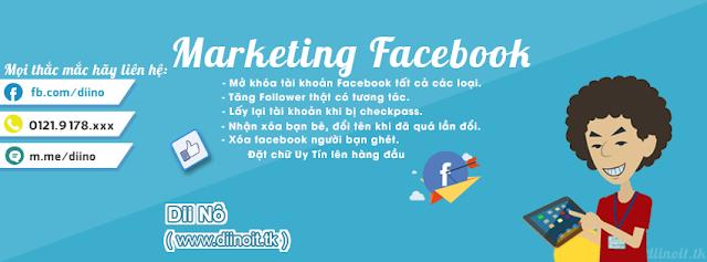 Share 2 PSD Ảnh Bìa Facebook Marketing Facebook