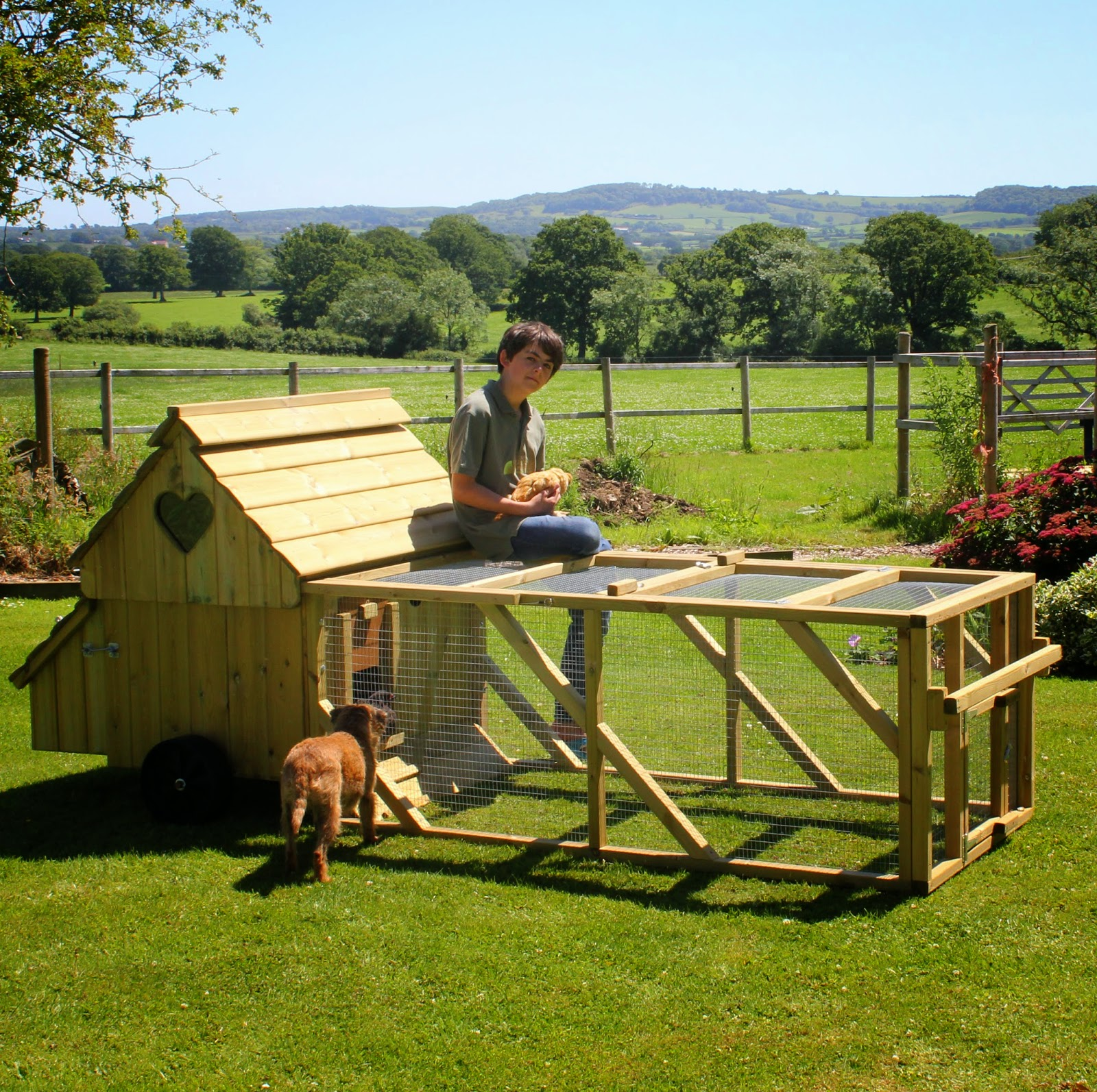 Mobile Hen Houses from Flyte so Fancy
