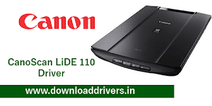 Download Canon LiDE 110 driver and software