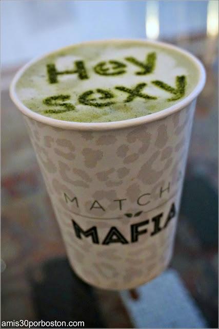 The Latte de Matcha Mafia en Amsterdam