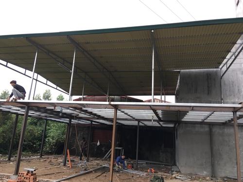 Thông tin đơn vị sửa mái tôn dột chất lượng