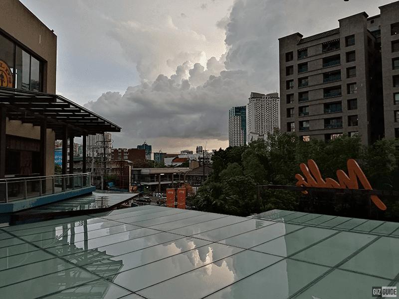 Outdoor gloomy