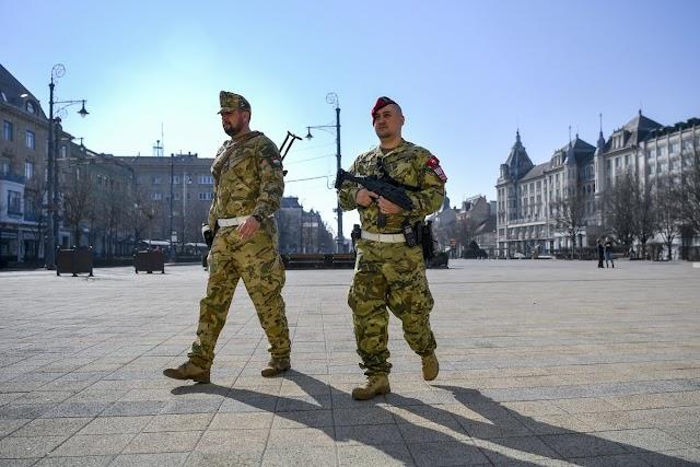 Péntektől katonák járőröznek Debecen utcáin