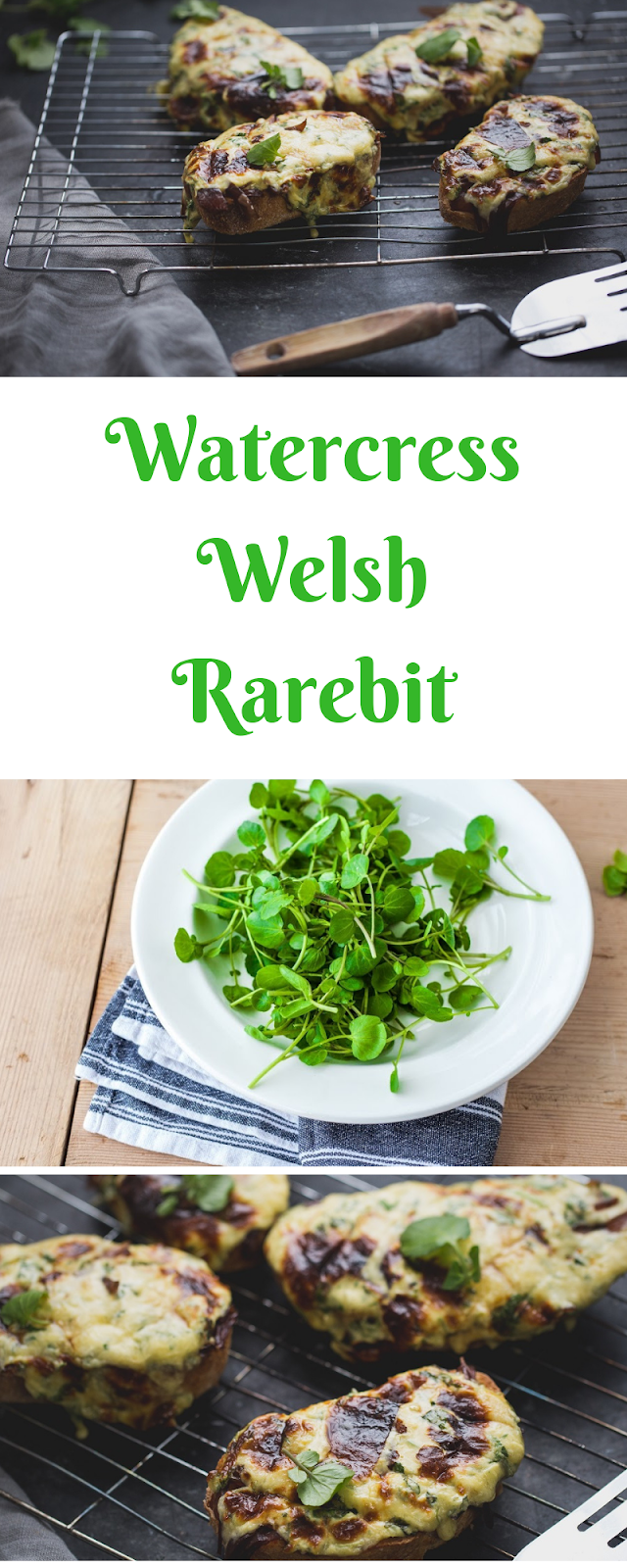 Watercress Welsh Rarebit