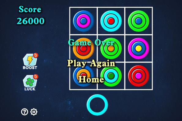 Free game Tic Tac Rings