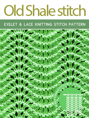Eyelet & Lace Knitting Pattern Free