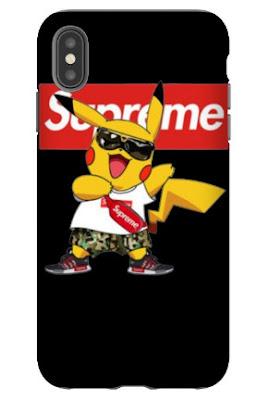 Pikachu Supreme T Shirt Hoodie Sweatshirt Sweater Tank Top Phone Case... GET IT HERE