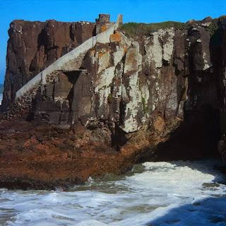 Escadaria em Meio às Rochas, Morro das Furnas