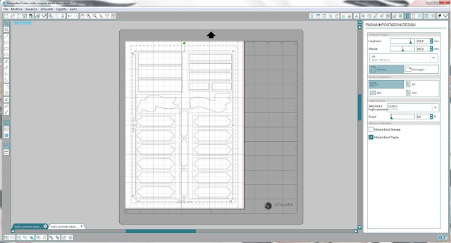 Come utilizzare i file dxf nella modalità Print & Cut | Silhouette Cameo 3