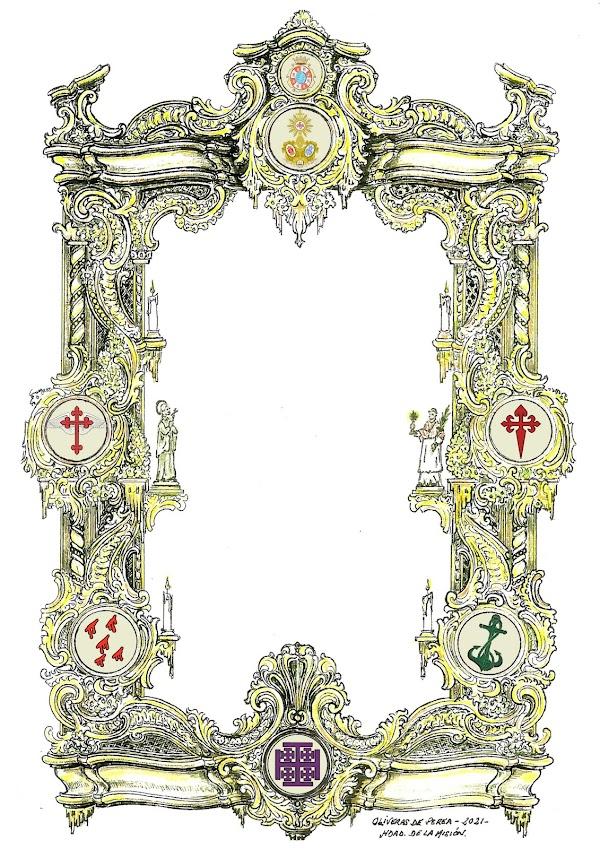 La Misión de Jerez saca una Papeleta de sitio simbólica para esta Semana Santa