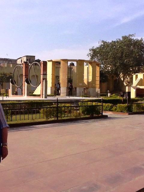 Jantar-Mantar Observatory, Pink city - Jaipur