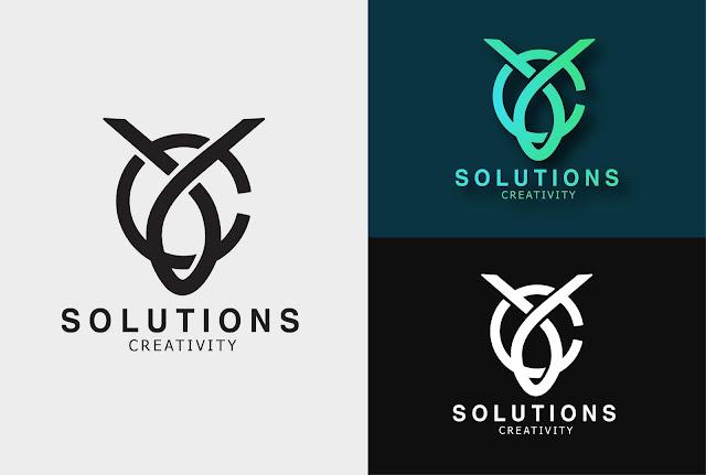 YC SOLUTIONS LOGO DESIGN