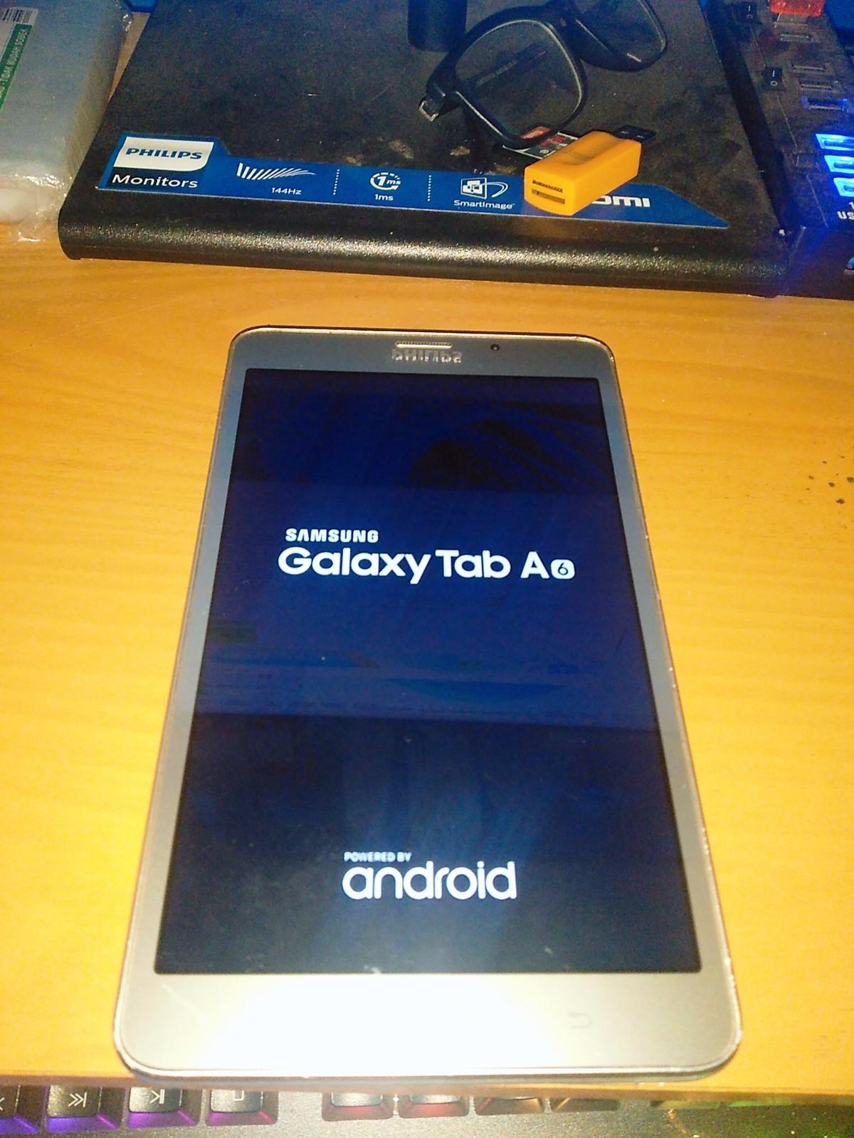 Cara Full Flash Samsung Galaxy Tab A 2016 SM-T285
