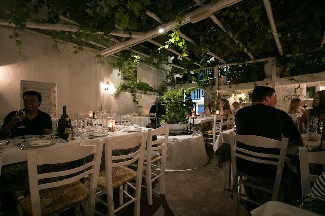 Cena da Eva's garden-Mykonos