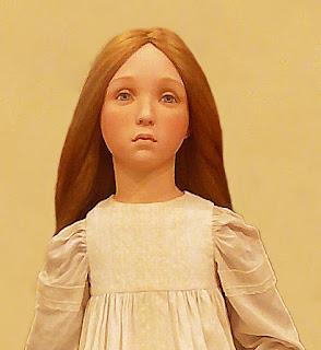 """Выставка авторской куклы в Самаре """"Куклы. Эмоции. Чувства."""", Татьяна Малушкина (Самара) """"Не бойся, я с тобой!"""""""