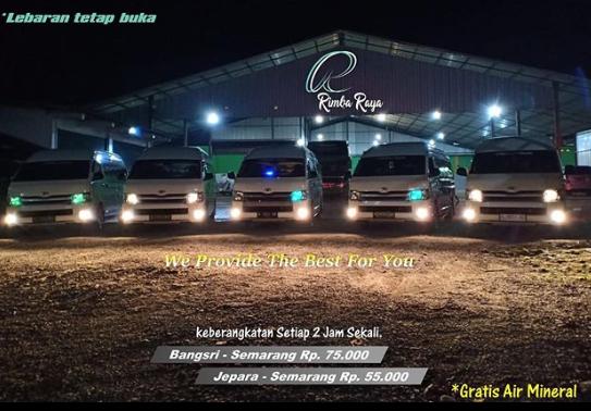 Travel Jepara Semarang Harga