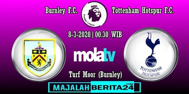 Prediksi Burnley vs Tottenham Hotspur