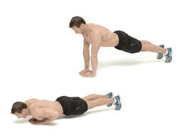 daiond push ups by bodytrick