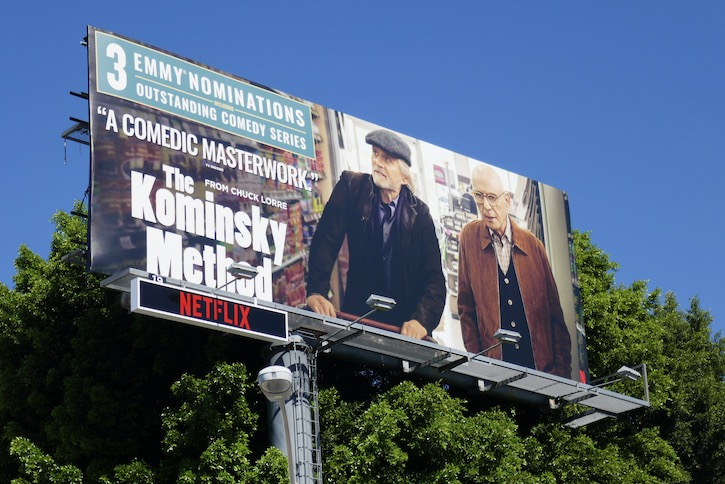 Kominsky Method season 2 Emmy nominee billboard