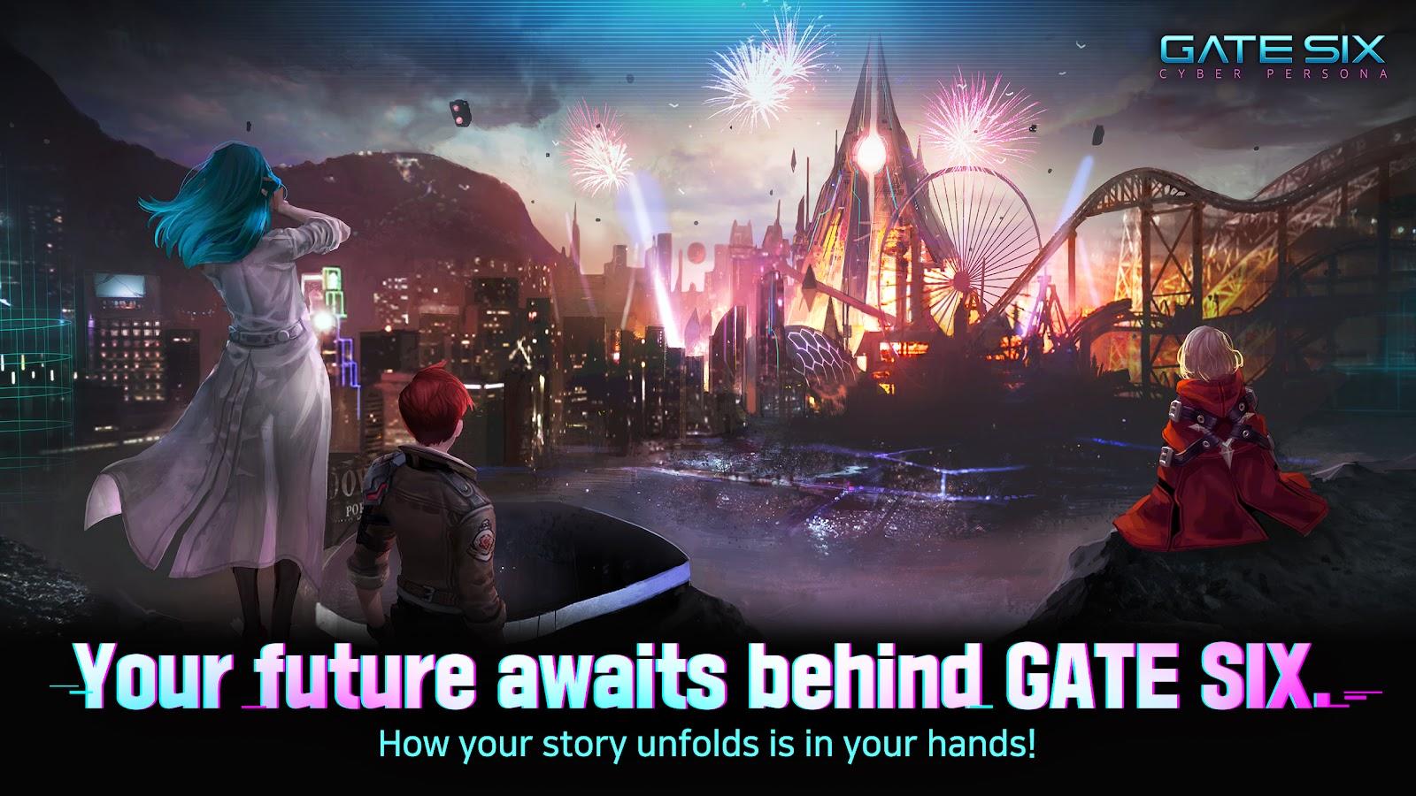 Gate Six: Cyber Persona closure
