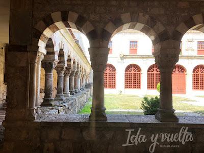 Monasterio de San Pedro de Cardeña claustro
