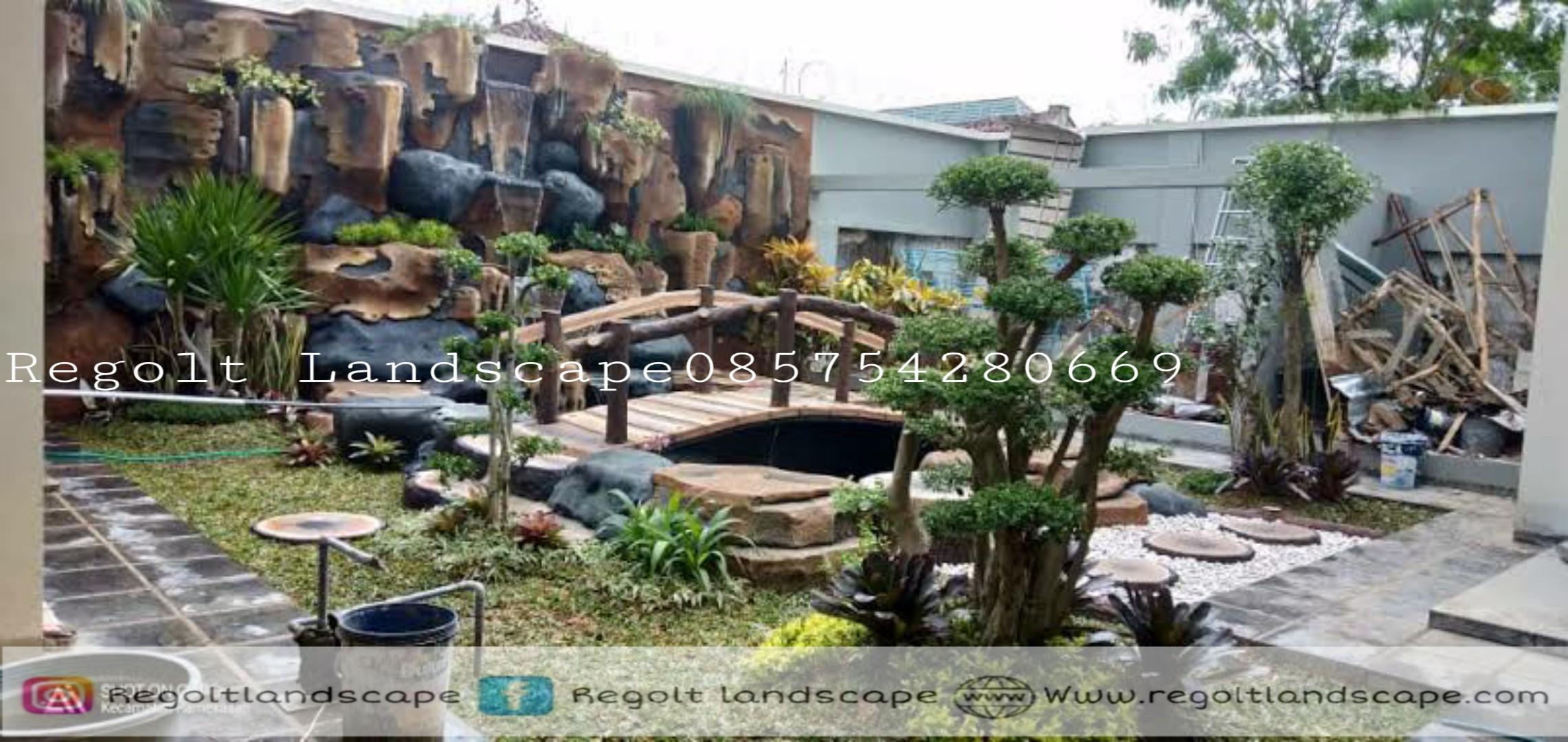 Jasa Pembuatan Dekorasi Kolam Tebing - Relif 3D Di Malang