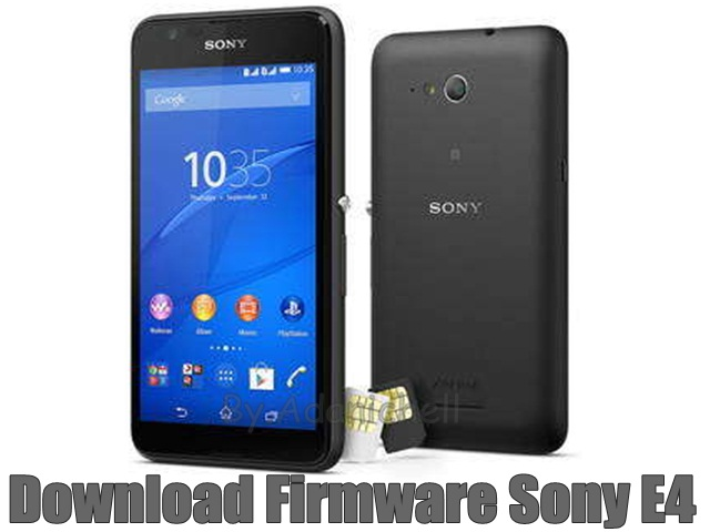 Download Firmware Sony E4