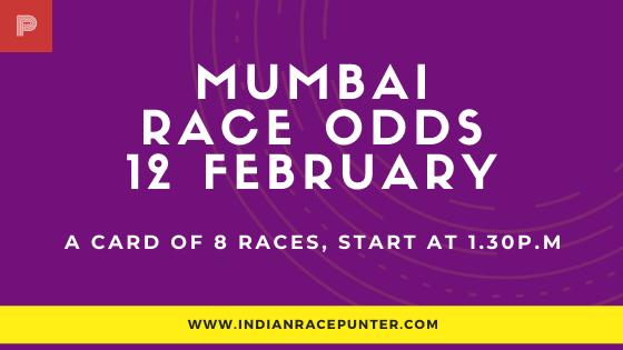 Mumbai Race Odds 12 February