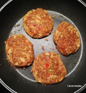como hacer hamburguesas de lentejas paso a paso