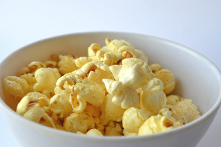 African Ginger Spice Hot Buttered Popcorn Recipe