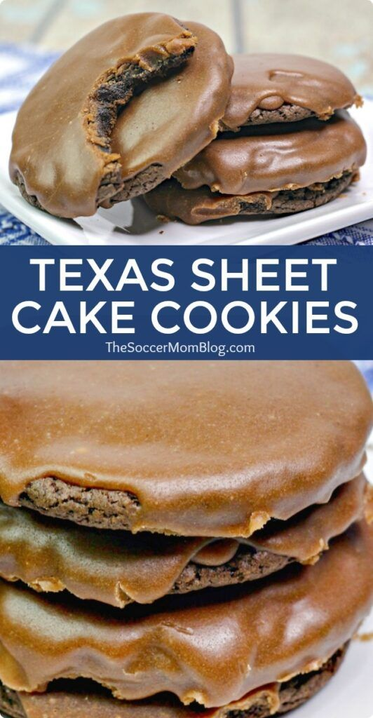 Texas Sheet Cake Cookies (Chocolate Cake Mix Cookies w/ Fudge Icing) #recipes #baking #bakingrecipes #food #foodporn #healthy #yummy #instafood #foodie #delicious #dinner #breakfast #dessert #lunch #vegan #cake #eatclean #homemade #diet #healthyfood #cleaneating #foodstagram
