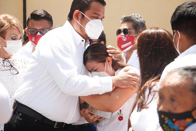 Priistas de Kanasín despiden al amigo del pueblo Carlos Canché
