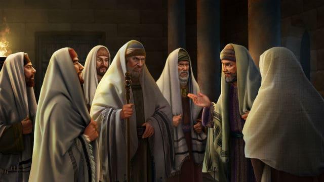 La conspiración contra Jesús (Mateo 26:1-5 )