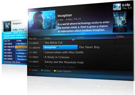 Directv Genie HR DVR Larger Guide - MENU Fonts FINALLY ...