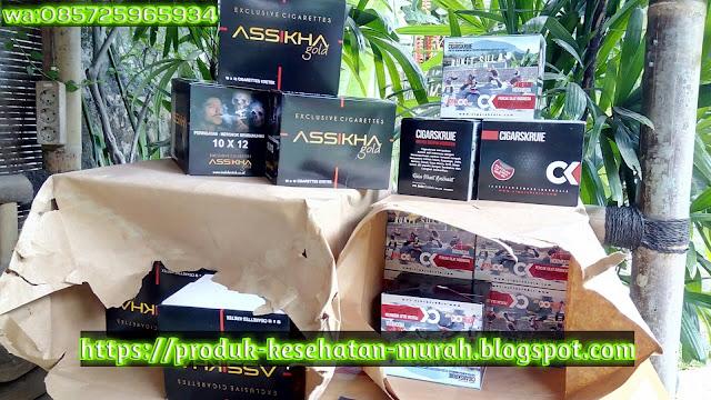 Rokok / Udud Kretek Rempah Nusantara Asshika Gold dan Cigarskruie wa:085725965934