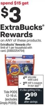 Tide Pods Coupon Deal 5/23-5/29