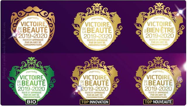 logo La version bio des Victoires de la beauté