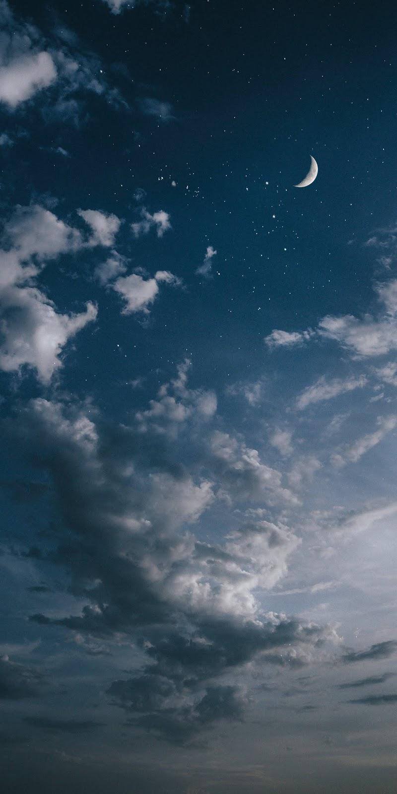 Bầu trời sao giữa màn đêm