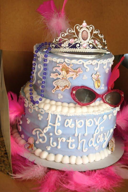 baked by ash Fancy Nancy Cake