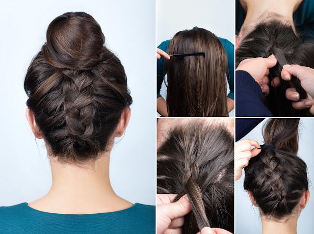 Contrôler les cheveux frisés par la pluie avec 3 coiffures rapides et belles